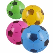 15cm PVC Inflatable Football Soccer Ball Toys for Children Kids Toy Swimming Summer Party Beach Bouncing Ball Diameter 15 cm