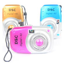 1 Piece Children Mini Camera Toys Cute Cartoon Mini Toy Camera Learning Educational Kids Digital Cameras Toys for Children Gifts