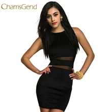 Buy Chamsgend Newly Design Womens Fashion Black Evening Sexy Party Mini Dress Club Party Dress 160310 Drop for $8.13 in AliExpress store