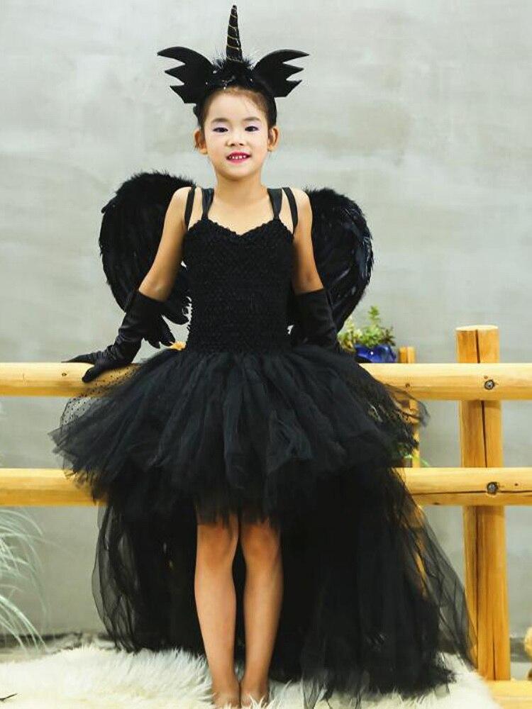 Kids Girls Elegant Angel Halloween Costume Cherub Butterfly Dress up /& Role Play