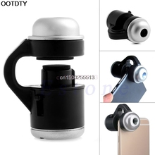 30X Zoom Mobile Phone Telescope Camera LED Microscope Lens For iPhone Samsung LG(China)