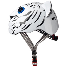 New Cycling Helmets White Orange Tiger Kids Helmet Road High Security Ultralight Children's Bike Helmet Bicicleta Casco Ciclismo