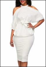 Preself-Fashion-Fitted-Waist-Two-Pieces-Women-Sexy-Off-Shoulder-Batwing-Sleeve-Tops-Slim-Knee-Length.jpg_200x200