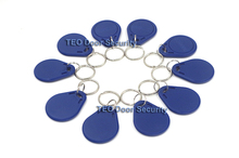 10Pcs EM 4100/4102 Keychains 125Khz RFID Proximity ID Card Tags Keyfobs rfid reader rfid scanner Compatible with all RFID Access