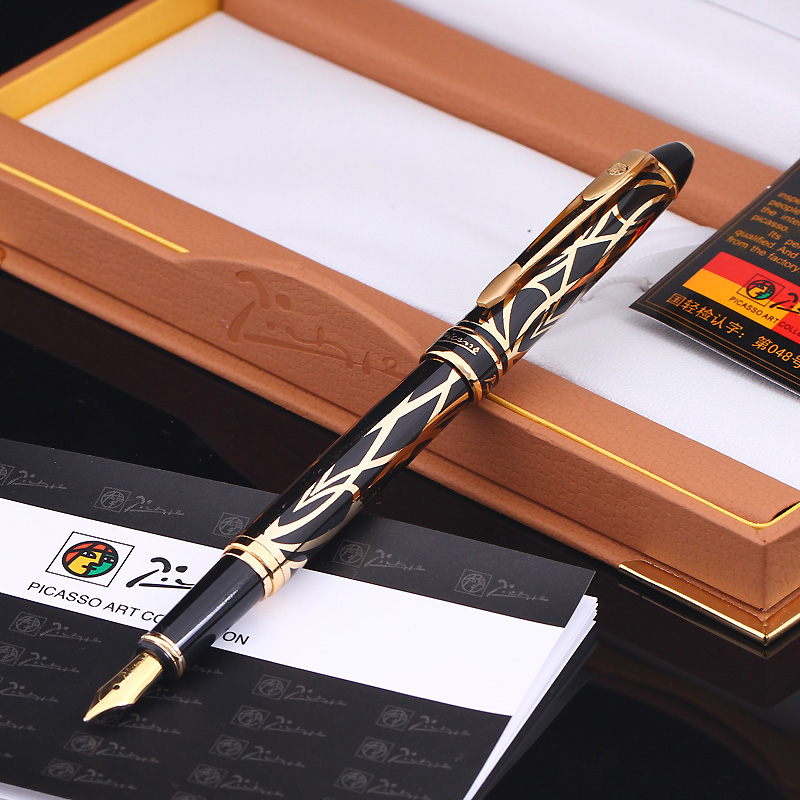 Pimio PS901 Paris style ink pen business holiday gift pen men and women dedicated pen<br>