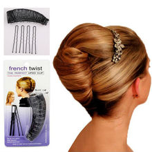 YouMap Hair Donut Bun Maker Magic Hair Styling Tools Princess Hairstyle French Twist Barrettes Hair Accessories Y5R5
