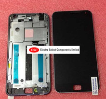 "Original LCD Display + Touch Digitizer Screen glass Assembly FOR  5.5"" Meizu MX4 Pro with frame 2560x1536    Free Shipping"
