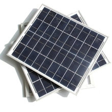 20W Polycrystalline Solar Panel Charging 12V Battery Power Home System Module+Cable - Cooleleparts Center store