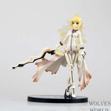 Alphamax Fate Stay Night Saber Bride Wedding Sebastian Nero Brinquedos PVC Action Figure Model kid`s cartoon toy T5994