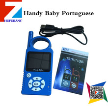 2016 new release Portuguese version  Handy Baby hot sale  Hand-held Car Key Copy Auto Key Programmer for 4D/46/48 Chips