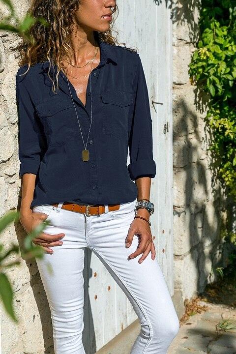 office blouse women plus size 5XL long sleeve blusas mujer de moda 2018 tallas grandes spring autumn shirt top women blouse13
