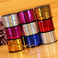 New 100  yard laser ribbons  wedding balloons  ribbons children 's birthday wedding party balloons