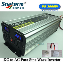 Promotion!LCD 3000W/3KW Peak Power 6KW/6000W DC12V 24V 48V to AC 220V 120V 110V pure sine wave solar grid off inverter converter