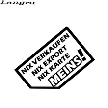 Langru Hot Sale Car Styling Export Auto Car Stickers Vinyl Decal Car Accessories Decorative Jdm(China)