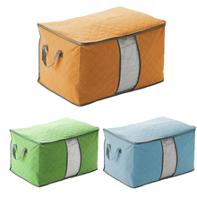 Non-woven Quilt Storage Bags Fabric Luggage Storage Bag Wardrobe Clothes Storing Bags Home Closet Divider