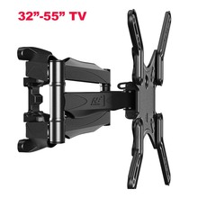 NB P5 55inch 42inch retractable led tv wall mount lcd bracket stand plasma holder(China)