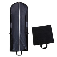 Dress Suit Coat Garment Clothes Protective Portable Folding Non-woven Fabric Dust Proof Cover Clothes Bag Dress Cover Clothes