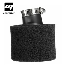 35mm / 38mm / 40mm / 42mm / 45mm / 48mm Black Sponge Foam Air Filter Cleaner For 200 250 300CC Motorcycle Snowmobile ATV(China)