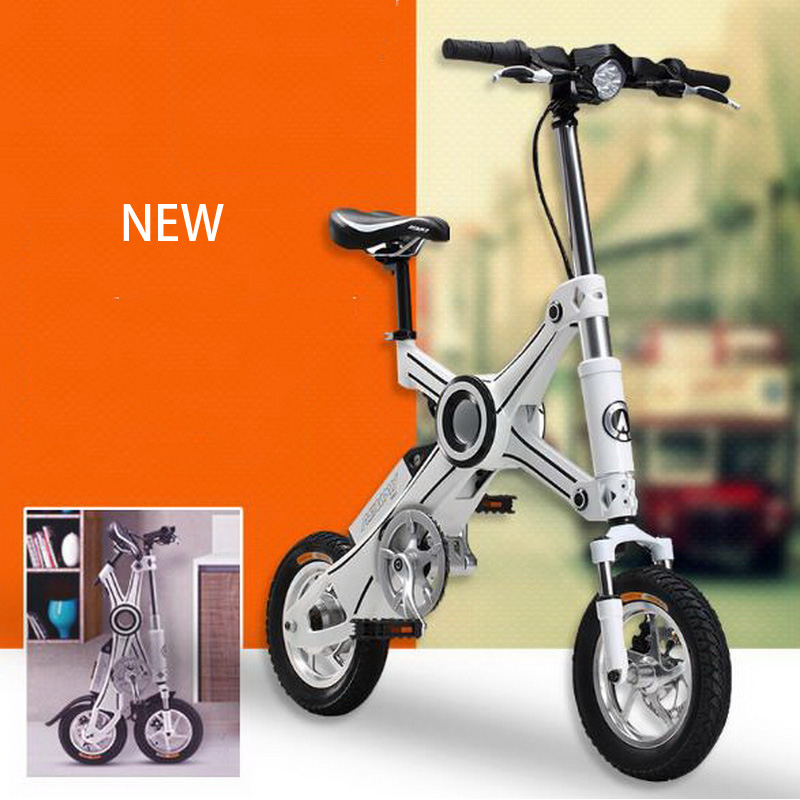 310441/12 inch Mini electric car/36V Folding lithium battery electric bicycle/Welding frame/High quality tires(China (Mainland))