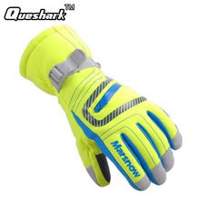 Winter Professional Ski Gloves Girls Boys Waterproof Warm Gloves Christmas Gift Snow Kids Waterproof Gloves(China)