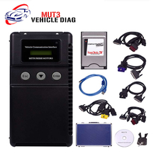 Multi-language MUT-3 Support ECU Programmer Mitsubishi MUT3 MUT 3 Car and Truck Diagnostic Tool DHL Free Shipping(China)