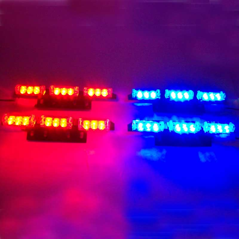 Car Hot Wholesale Retail 4x9 36 LED Flashing Police  &amp; Truck Strobe Light Red Blue White Green Amber Free Shipping<br><br>Aliexpress