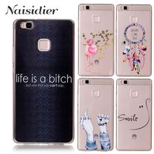 Soft TPU Gel Ultra Thin Marble Cat Transparent Case For Huawei Nova P8 P9 P 8 9 Lite 2017 P10 Y5ii Silicon Cover Phone Cases