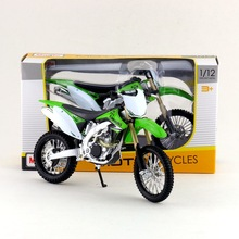 Maisto/1:12 Scale/Simulation Diecast model motorcycle toy/KAWASAKI KX 450F Supercross/Delicate children's toy/Colllection