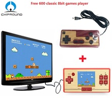 RS-20 classic retro 30 anniversary children's game handheld video game console 600 Games+128 games in Card Support 2 players