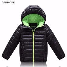 Danmoke Boys Winter Coat Children's Parkas Winter Jackets For Girls Clothing For Boys Jacket Clothes For Baby Girls Kids(China)