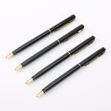 Core Metal Ballpoint Pen Rotating Metal Money Clip Metal Luxury Ballpoint Pen High Quality Mb Roller Pen Material Escolar