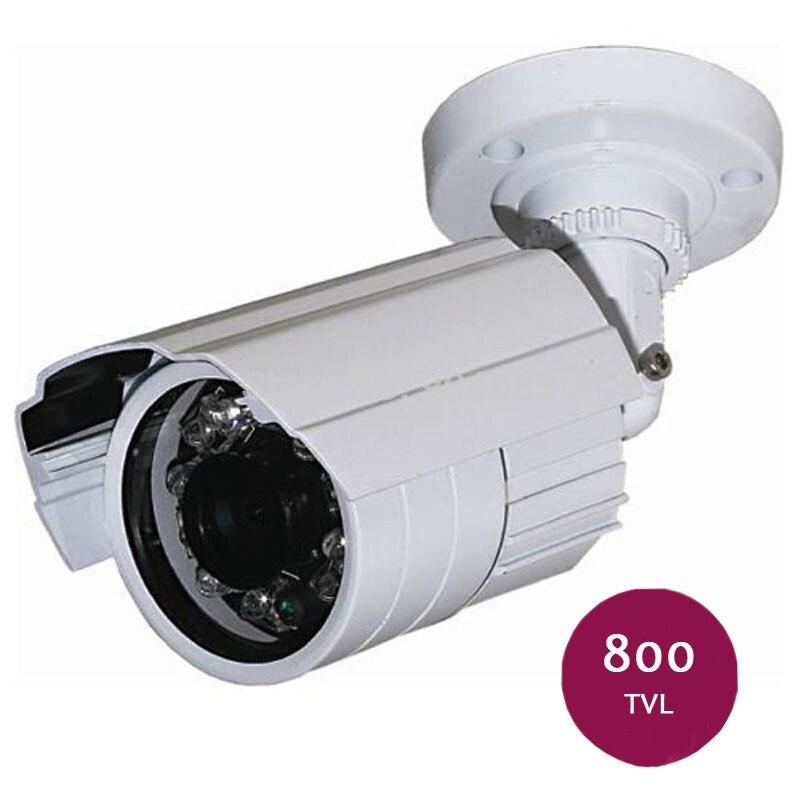 CMOS 800TVL Outdoor Indoor Waterproof IR Security CCTV Bullet Camera Home Video Surveillance Kamera <br><br>Aliexpress