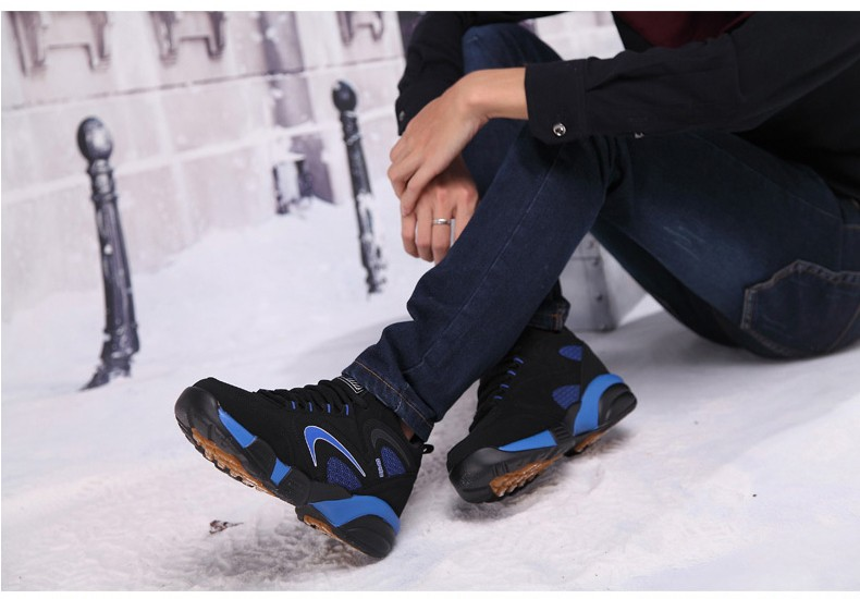 16 Winter Shoes Mens Running Shoes Outdoor Women Sport Shoe blue Keep Warm Winter Sneakers Running Shoes Free SIZE UE36-45 6