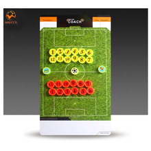 MAICCA Soccer coach board with pen Professional Sports magnetic Tactical Board Wholesale Football coaching plate 35*20cm(China)