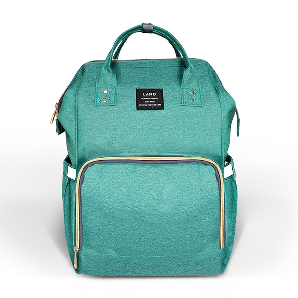 LAND Baby Diaper Bags Waterproof Baby Bag Travel Backpack Desiger Nursing Bag for Baby Care<br>