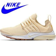 buy popular dbc30 82dd2 Transpirable Original nueva llegada oficial Nike aire PRESTO las mujeres  Low Top zapatillas de deporte zapatillas