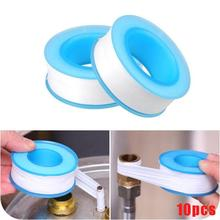 10PCS Roll Plumbing Plumber Fitting Thread Seal Tape Aater Tap For Water Pipe Sealing Bathroom Accessories(China)