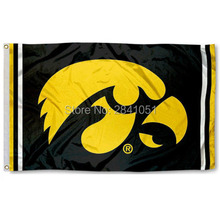 Iowa Hawkeyes Jersey Large Nation American Outdoor Indoor Hockey Baseball College Flag 3X5 Custom USA Any Team Flag
