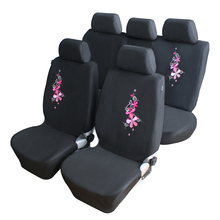 Buy Flower Embroidery Car Seat Covers Universal Fit 9PCS Full Set Car Seat Protector Front & Rear Seat Interior Auto Decoration for $13.76 in AliExpress store