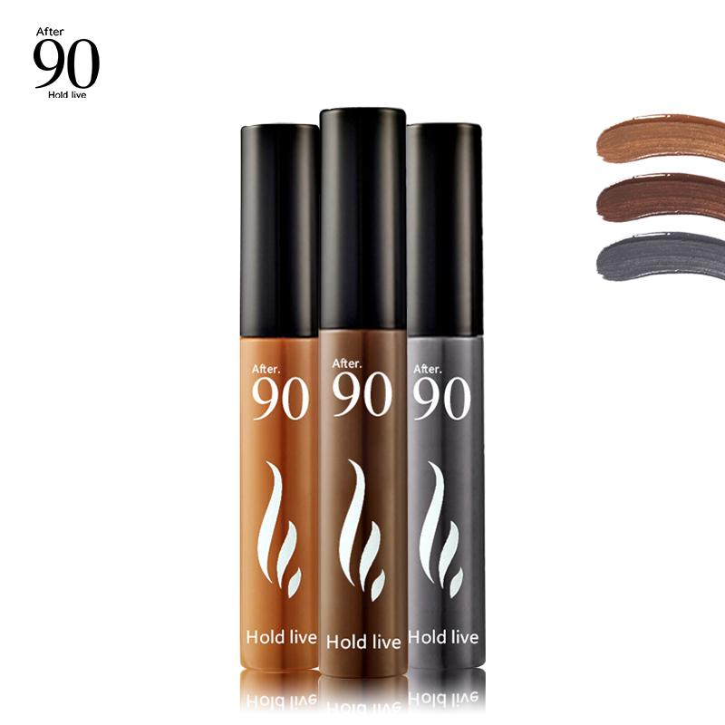Hold Live Eyebrow Tint Peel Off Eyebrow Enhancer Tattoo Gel 3 Color Dye Cream Waterproof 72H Long Lasting Natural Eyebrow Makeup 2