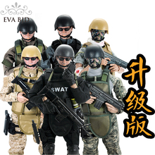 1/6 BJD Doll Soldier dolls Action Figure Army Model Toys for children adult 21 jointed doll n clothes shoes Gift Toy DB014/DB015