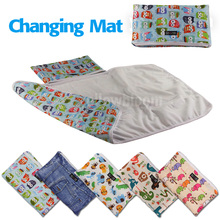Baby Portable Foldable Washable Compact Travel Nappy Diaper Changing Mat Waterproof Baby Floor Mat Change Play Mat(China)