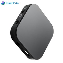 EastVita Audio Adapter Bluetooth 4.1 Transmitter Receiver APT-X Low Latency 2 Devices for Home Car Sound Headphones TV  SPQ025