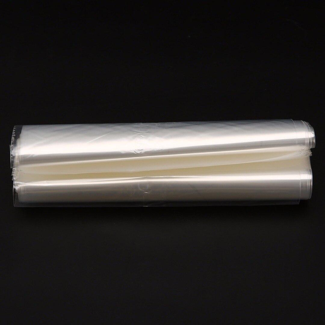 100pcs Multi-size Transparent Soft POF Shrink Wrap Film Heat Seal Bag Mayitr Gift Packing Soap Box Jars Cosmetics Packaging Bags