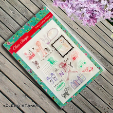 Cartoon Girls rubber stamp clear stamp finished transparent chapter For DIY Scrapbooking photo cards