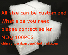 white air bubble bag,HDPE bag storage bag bumping bag any size can be customized contact seller