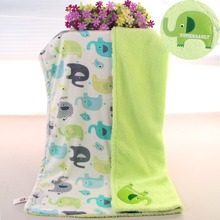 High quality Super Soft Baby Blanket Cartoon star flower Blanket baby shower Newborn Gift For Boy Girl receiving blankets(China)
