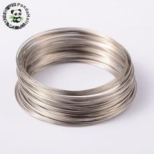 65mm Platinum Color Steel Memory Wire for Bracelets making Jewelry Findings about 100circles/unit
