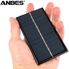 Buy ANBES Solar Panel 6V 1W Universal Solar Panel Standard Epoxy 110x60mm Mini Solar Cell Polycrystalline Silicon DIY Battery Power for $1.35 in AliExpress store