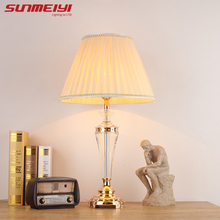 Modern Table Light AC 110V/220V Bedside Bedroom Wedding Table Lamp European-style Creative Personality DIY Lighting Desk Light(China)